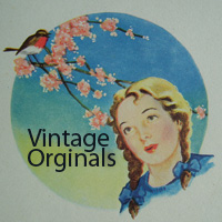 Box Of Birds Vintage Original